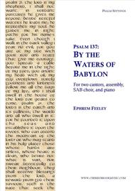Psalm 137: By the Waters of Babylon