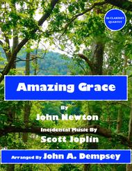 Amazing Grace / The Entertainer (Ragtime Clarinet Quartet) 					 Digital Sheet Music 					 By John Newton, Scott Joplin