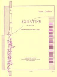 Sonatine - Flute et Piano