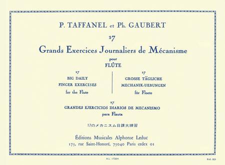 17 Exercices Journaliers de Mecanisme Flute