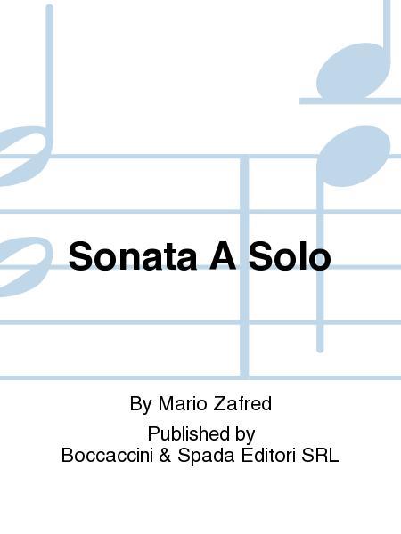 Sonata a Solo