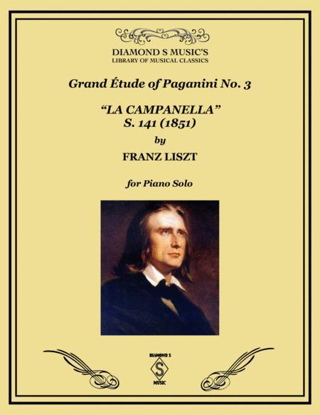 La Campanella Franz Liszt Piano Solo By Franz Liszt 1811 1886 Digital Sheet Music For Solo Part Download Print S0 789101 Sheet Music Plus