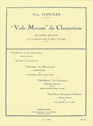 Vade Mecum Du Clarinettiste - Clarinette