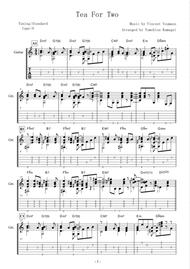 Tea For Two -Bossa Nova- (Fingerstyle Guitar) By Vincent Youmans - Digital Sheet Music For Solo ...
