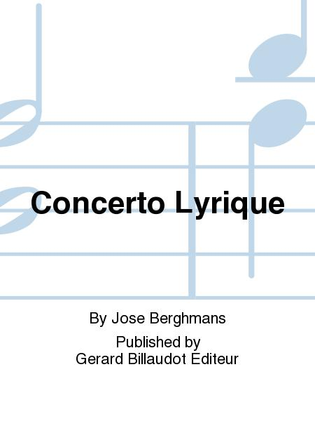 Concerto Lyrique