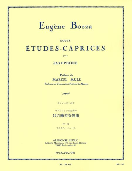 12 Etudes-Caprices - Saxophone