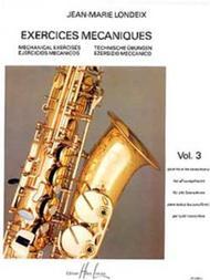 Exercices mecaniques - Volume 3