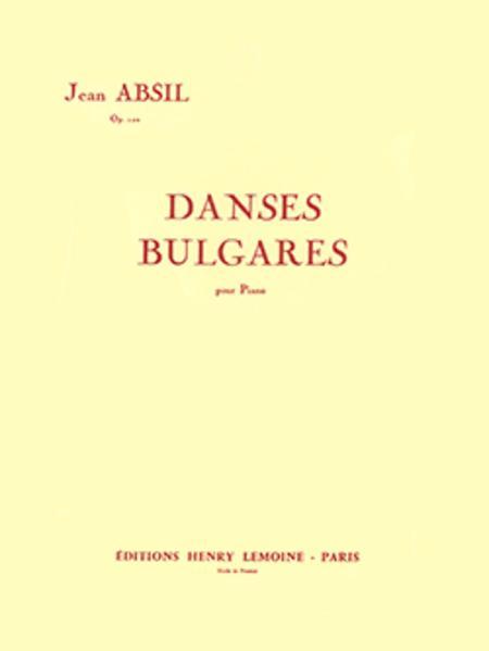 Danses bulgares Op. 102
