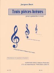3 Pieces Breves - Quintette a Vent