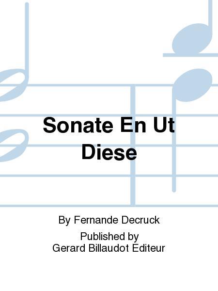 Sonate En Ut Diese