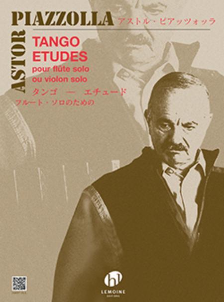 Tango-Etudes pour Flute seule (for Flute Solo)