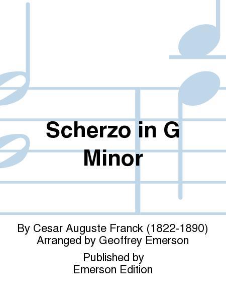 Scherzo In G Minor