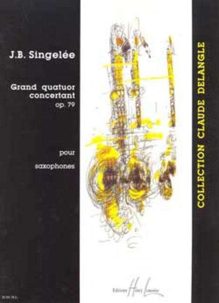 Grand quatuor concertant Op. 79