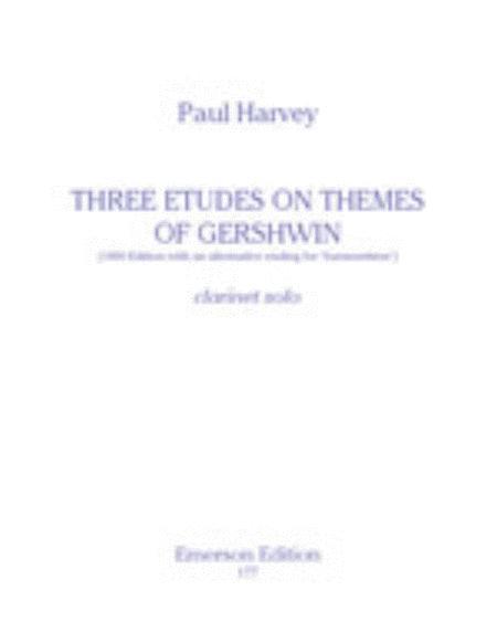 Three Etudes On Themes Of Gershwin