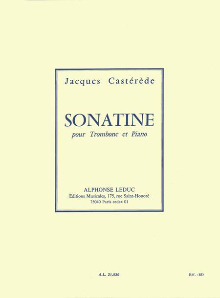 Sonatine - Trombone Et Piano