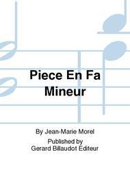 Piece En Fa Mineur