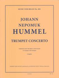 Trumpet Concerto In B-Flat - Trumpet And Piano