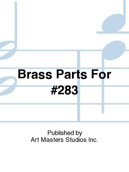 Brass Parts For #283
