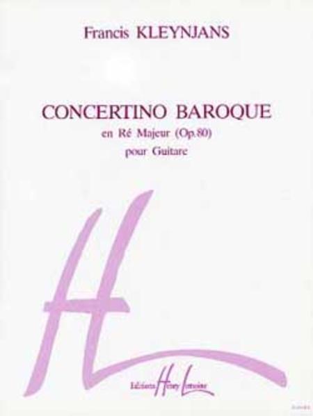 Concertino baroque Hommage a Vivaldi Op. 80
