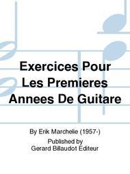 Exercices Pour Les Premieres Annees De Guitare
