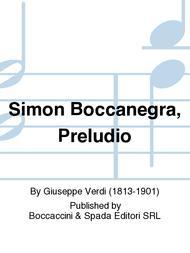 Simon Boccanegra, Preludio