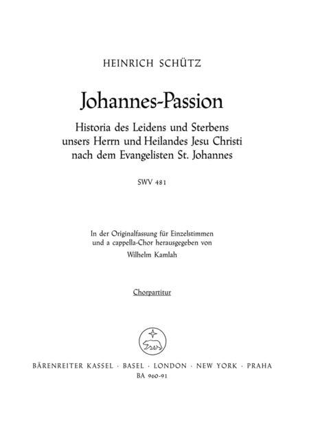 Johannes-Passion SWV 481
