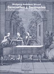 Serenaden fur drei Melodie-Instrumente oder ein Melodie-Instrument und Klavier, Heft 4 C major KV 439b/4,5
