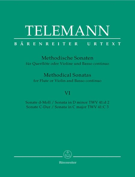 Twelve Methodical Sonatas for Flute or Violin and Basso continuo