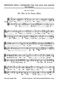 Der Herr ist der Armen Schutz (Psalm 9) Vor dir ist Freude die Fulle (Kanon) (1948)