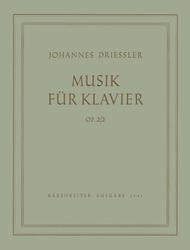 Musik for Piano op. 2/2