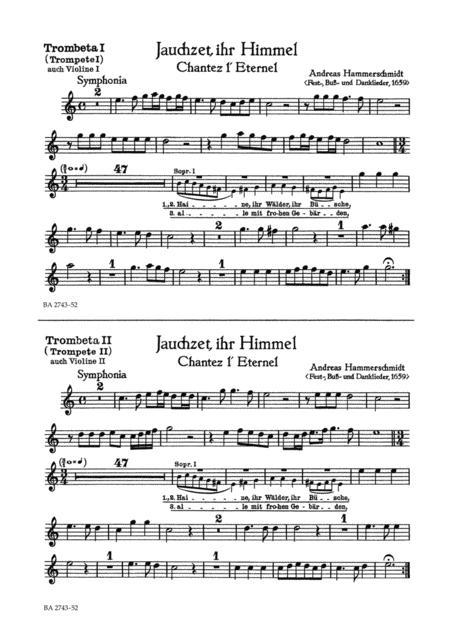 Jauchzet, ihr Himmel - Chantez lEternel