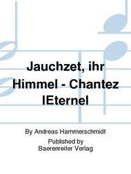 Jauchzet, ihr Himmel und Danklieder)