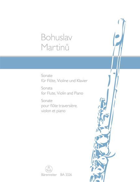 Sonata for Flute, Violin and Piano
