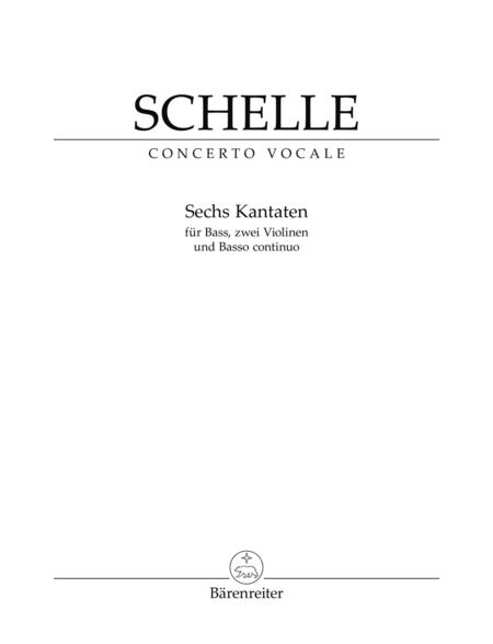 Sechs Kantaten for Solo Voice and Instruments