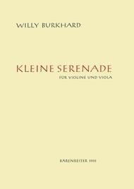 Kleine Serenade for Violin and Viola op. 15