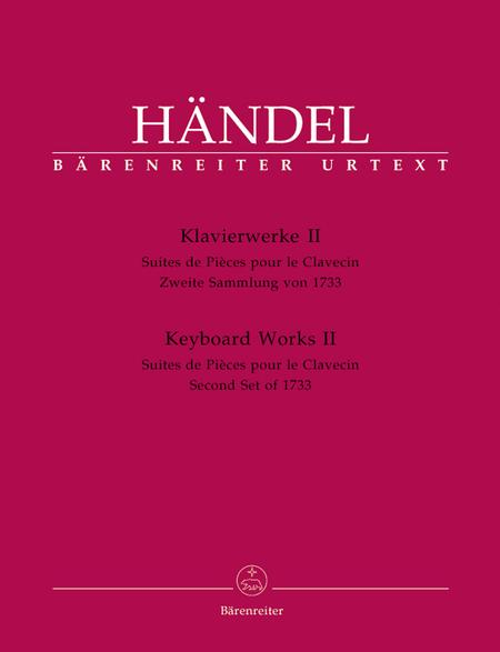 Keyboard Works, Volume 2, HWV 434-442