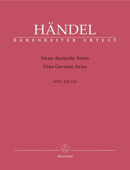 Nine German Arias HWV 202-210