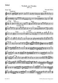 Verleih uns Frieden gnaediglich - Gib unsern Fuersten SWV 354, 355