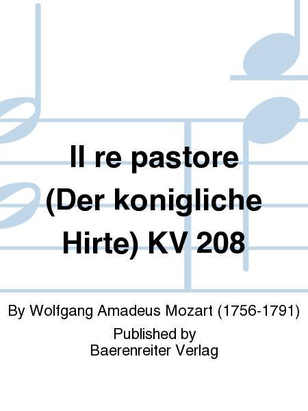 Il re pastore (Der konigliche Hirte) KV 208