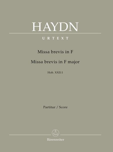 Missa brevis F major Hob. XXII:1
