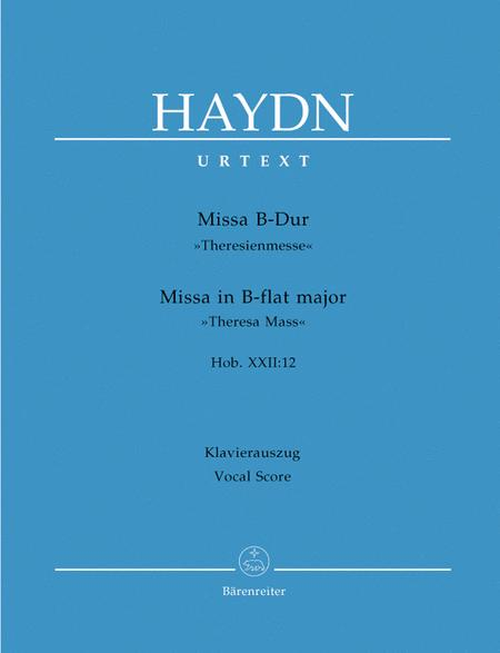 Missa B flat major Hob.XXII:12 'Theresa Mass'