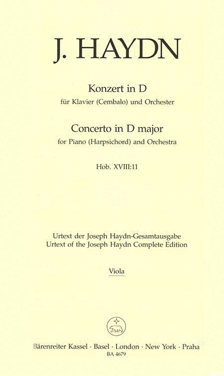 Klavierkonzert D major Hob. XVIII:11