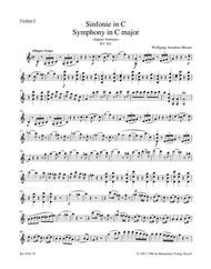 symphony no 41 in c major