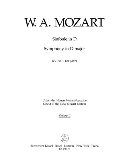 Symphony D major