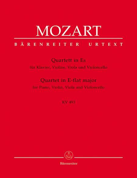 Quartet for Piano, Violin, Viola and Violoncello, KV 493