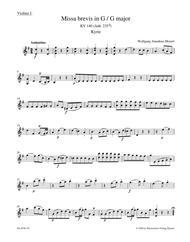Missa brevis G major, KV 140 (Anh. 235d)