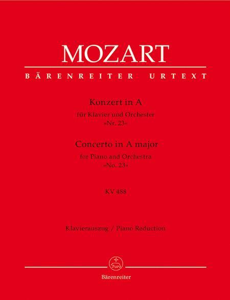 Piano Concerto In A Major, K. 488
