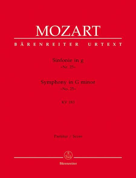 Symphony, No. 25 g minor, KV 183