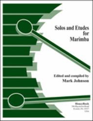 Solos & Etudes For Marimba