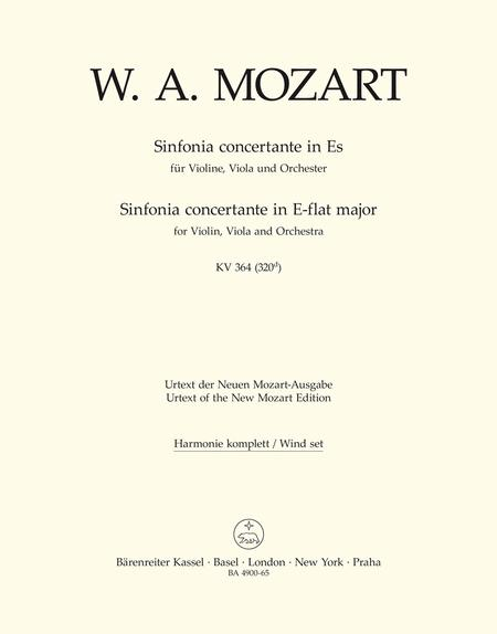 Sinfonia concertante for Violin, Viola and Orchestra E flat major, KV 364 (320d)